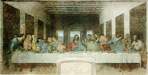 Jesus' Last Supper – Supersized