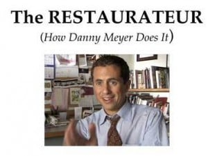 """The Restaurateur"" A Film About Danny Meyer"