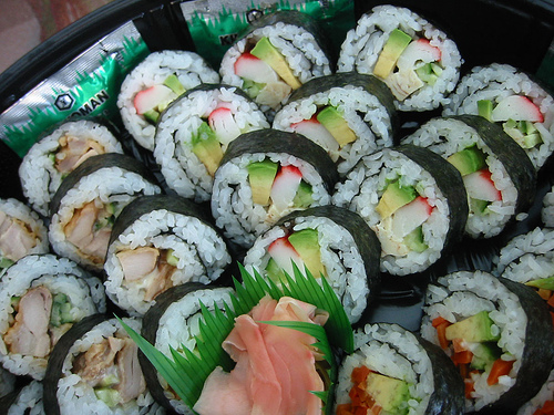 ... California roll was created in California — by a Japanese, of course
