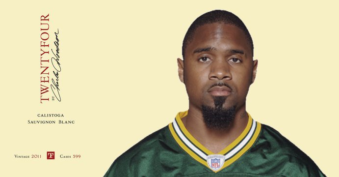 Charles Woodson Twenty Four Wines Ultimate Guide to Celebrity Wine