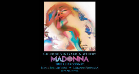 madonna chardonnay1 Ultimate Guide to Celebrity Wine