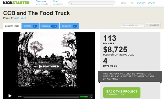 CCB and the Food Truck Interview with John Lynch   Kickstarter