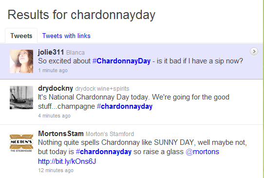 twitter chardonnay day image Chardonnay at its Best