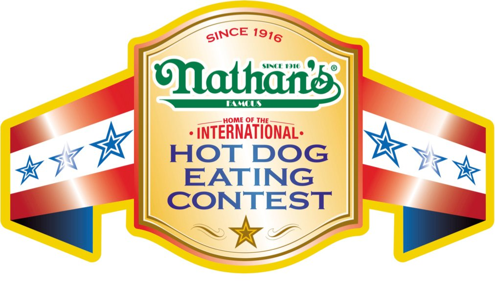 Nathans Belt Nathans Hot Dog Eating Contest for Freedom Day