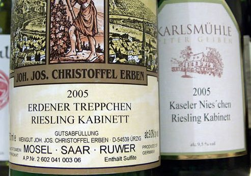 rieslingkabinett Riesling Style: Light And Gorgeous Kabinett