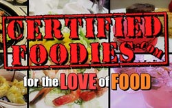 Certified Foodies Three Days Left: Best Food Blogger 2011