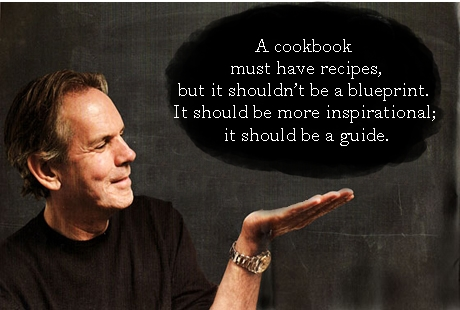 cookbook must have recipes, but it shouldn't be a blueprint. It ...