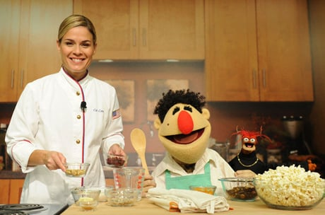 Cat Cora Muppets Kitchen Sexy Cooking Celebrities: Cat Cora