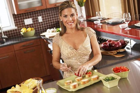 Chef Cat Cora Sexy Cooking Celebrities: Cat Cora