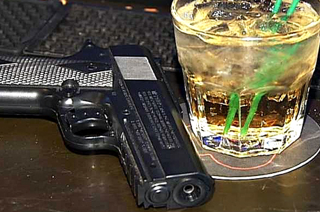Drinks and Gun Ohio Passes Law Allowing Concealed Guns in Bars