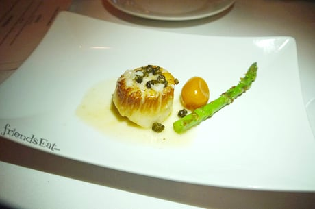 Scallop w Mozzarella Fiorini Review NYC