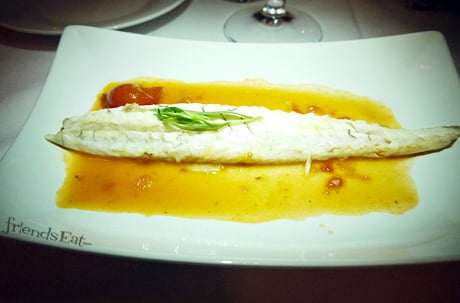 Whole Branzino Fiorini Review NYC
