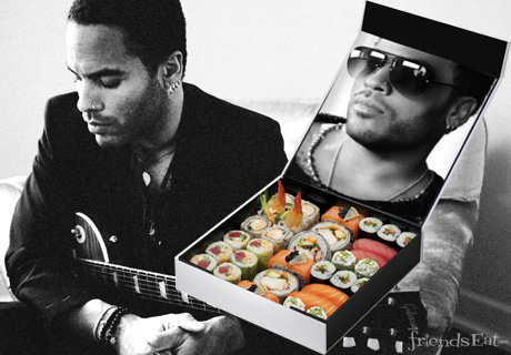 Pick Up Lenny Kravitz (Sushi) in NYC