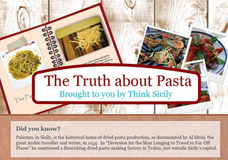 The Truth About Pasta (Infographic)