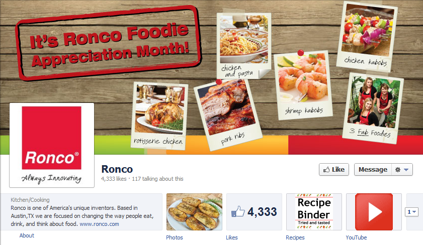 Ronco Facebook Review: Ronco Showtime Rotisserie   Big Thumbs Up