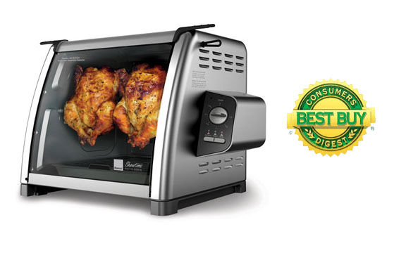 Roncos 5500 Series Showtime Rotisserie Review: Ronco Showtime Rotisserie   Big Thumbs Up
