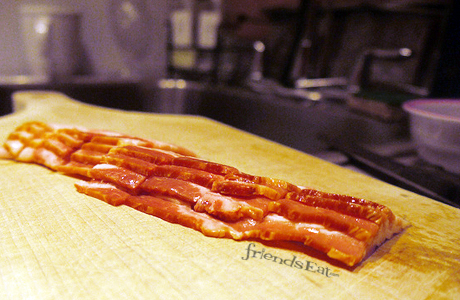 bacon on cutting board Can a Bacon Sandwich Cure a Hangover? Scientists Say Yes
