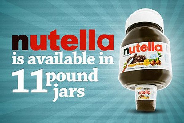 Nutella111 12 Facts About Nutella