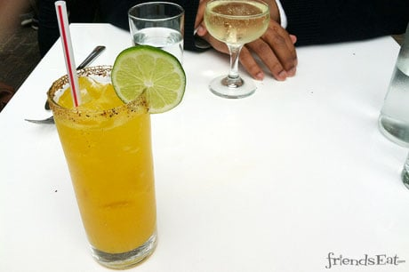 Passion Fruit and Spiced Mango Margarita at La Condesa Why Restaurant Owners and Chefs Hate Food Bloggers