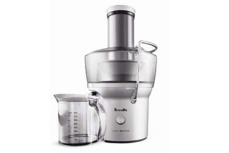 Breville Compact Juice Fountain 700 Watt Juice Extractor 3 Miraculous Benefits of a Juicer: Jack Lalanne vs Hamilton Beach