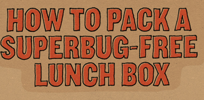 How to Pack a Super bug Free Lunch Box (Infographic)