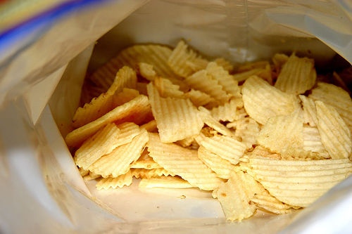 Chips Junk Food Image via spinnergames.com  80% of US Pre Packaged Foods Banned in Other Countries