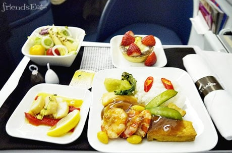 Meal From Japan to Manila Airline War Waged To Win Traveler Stomachs