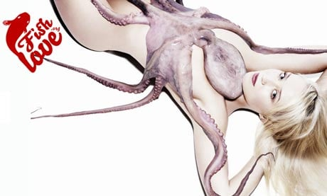 Why Well-Known Personalities Are Posing Naked With Dead Fish
