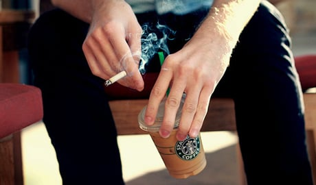 New Starbucks Policy Forbids Smoking Within 25 Feet of Stores New Starbucks Policy Forbids Smoking Within 25 Feet of Stores