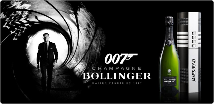 Bollinger 002 for 007 Ultimate Guide to Celebrity Wine