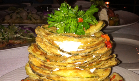 Fried Zucchini Chips Thalassa Review