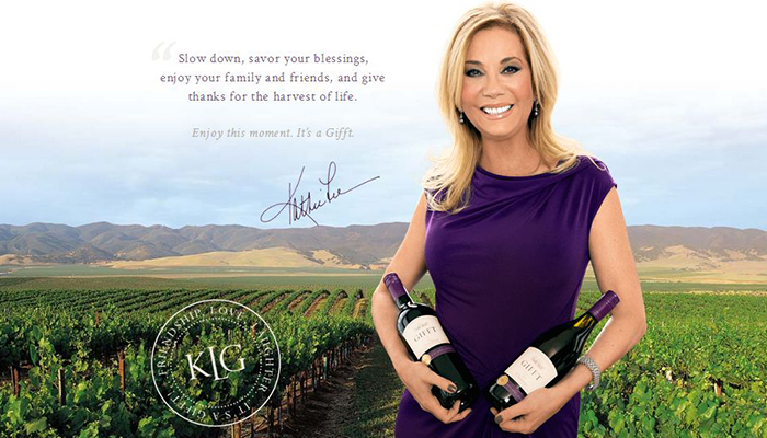 Kathie Lee Gifford Gifft Wines Ultimate Guide to Celebrity Wine