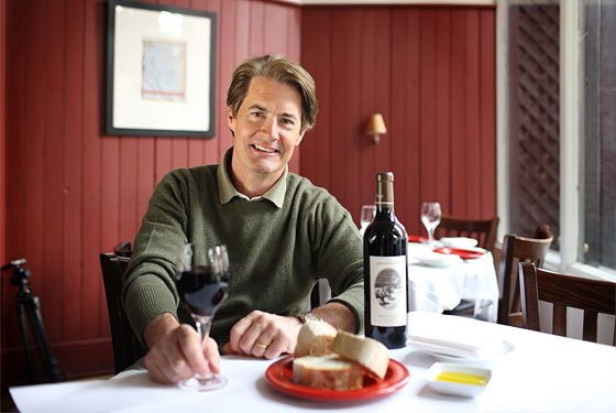 Kyle MacLachlan Pursued by Bear Wines Ultimate Guide to Celebrity Wine