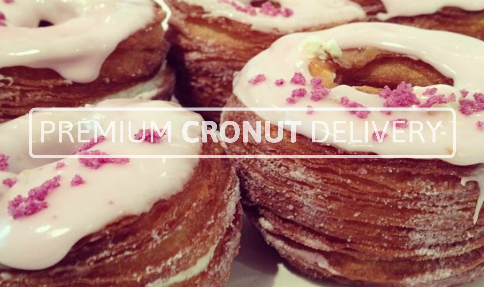 croissan donught delivery Chef Ansel Cracking Down on Scalpers Charging $100 Per Cronut