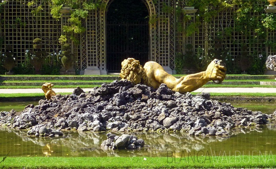Fountain of Enceladus Versailles Versailles: Heaven and Hell