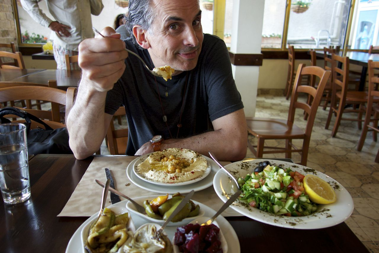 Roger Sherman Israel Food Interview with Director Roger M. Sherman on his Latest Project: The Search for Israeli Cuisine