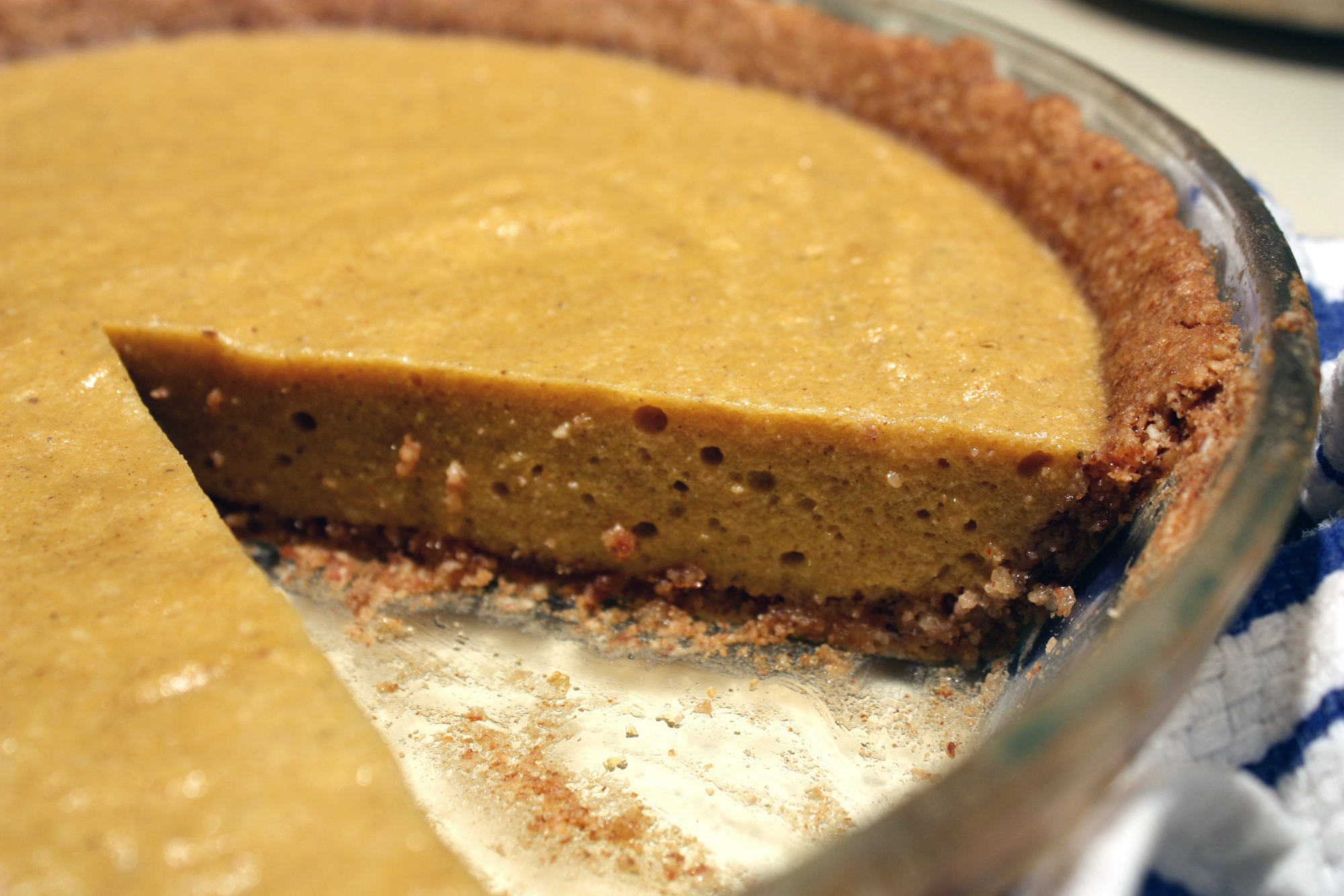 Paleo Pumpkin Pie Recipe Fall Recipe: Bill Staley and Hayley Masons Paleo Pumpkin Pie