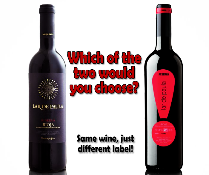 Same Wine Different Label How Wine Labels Entice Consumers Into Buying