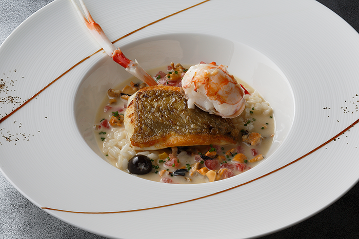 Halibut and Langoustine Chefs Winter Recipes: Eiji Okamuras Halibut and Langoustine