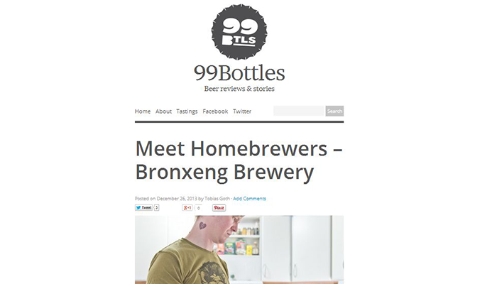 Good Beer Hunting 99 Bottles Blog from Sweden Interview with Michael Kiser from Good Beer Hunting