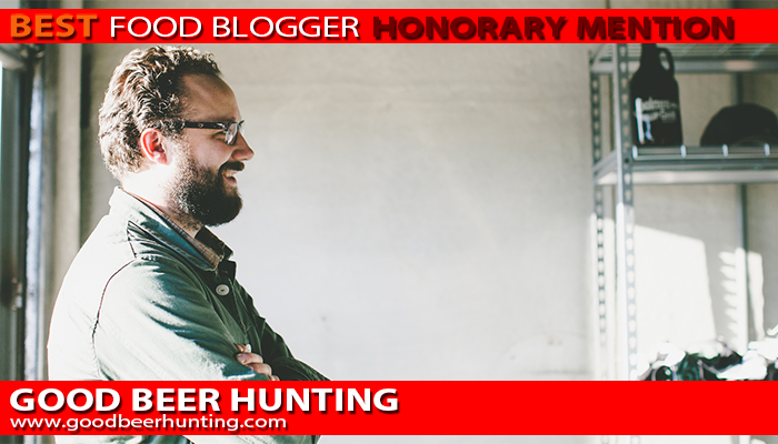 Michael Kiser of Good Beer Hunting FriendsEAT Best Food Blogger Honorary Mention Interview with Michael Kiser from Good Beer Hunting