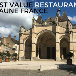 Restaurants in Beaune that offer great meals for the money
