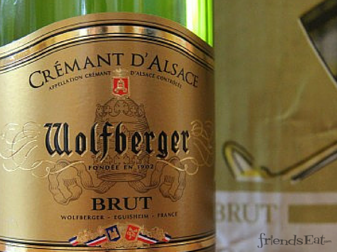 Champagne alternative from Alsace