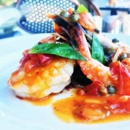 Prawn Palermo Recipe by Chef Stephen Wambach of Formentos