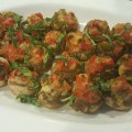 Stuffed Mushrooms by Chef Chassis Hawkins-Younger of Foodtellect Personal Chef Service