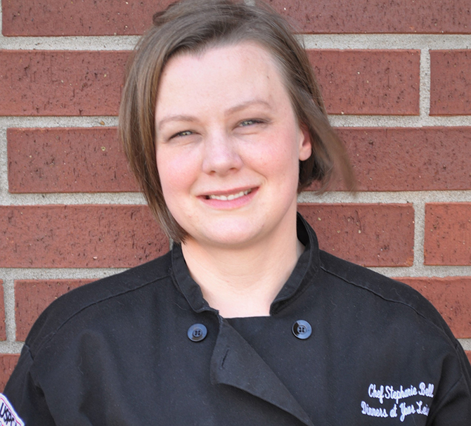 Chef Stephanie Bell of Dinners at Your Leisure in Katy Texas