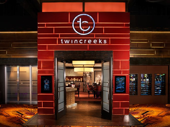 Twin Creeks Steakhouse at the Silverton Casino in Nevada