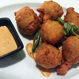 Crawfish and Crab Beignets from Gentilly Kitchen + Bar in New York City