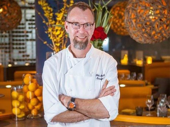 Chef Pete Manfredini of Sofitel Los Angeles in Beverly Hills